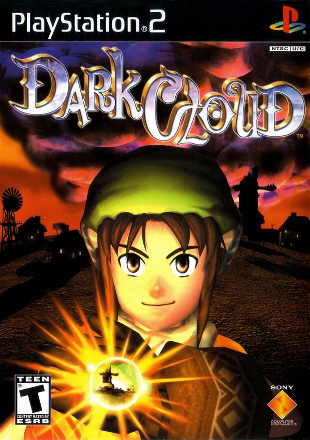Dark Cloud PS2 PS4 RPG Box Cover